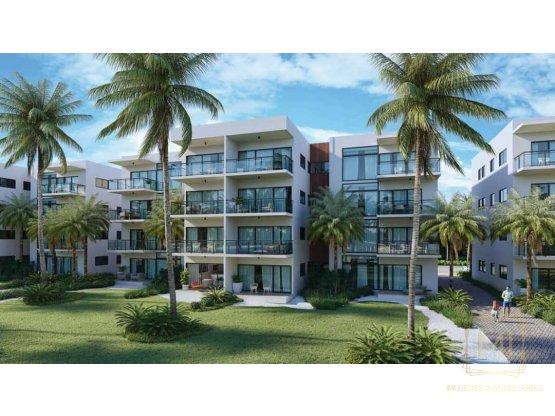 Apartamento con Playa Privada por Crystal Lagoon