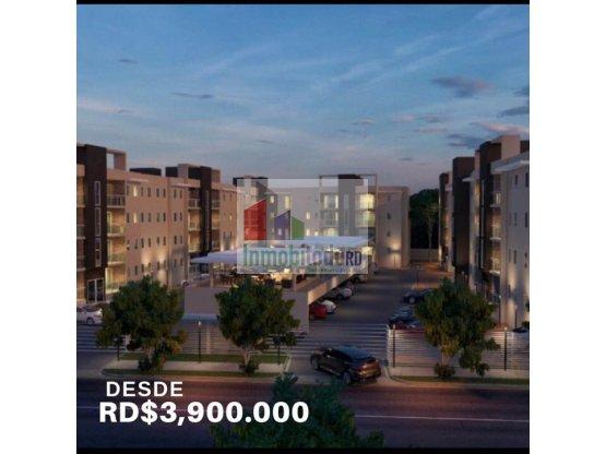 Apartamentos en Arroyo Hondo Viejo