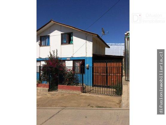 Casa ampliada en Venta Illapel. Villa San Rafael