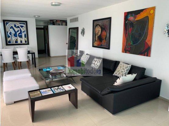 Elegante apartamento amueblado en El Malecón