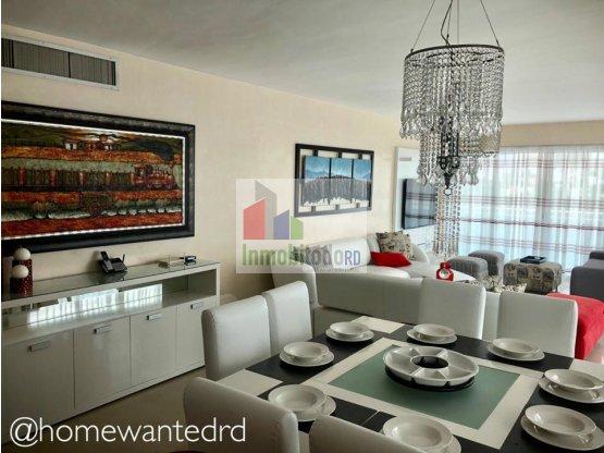 Elegante y acogedor apartamento amueblado