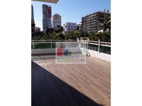 Excelente apartamento amueblado en Mirador Sur,