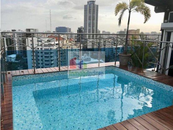 Penthouse de lujo Amueblado en Naco