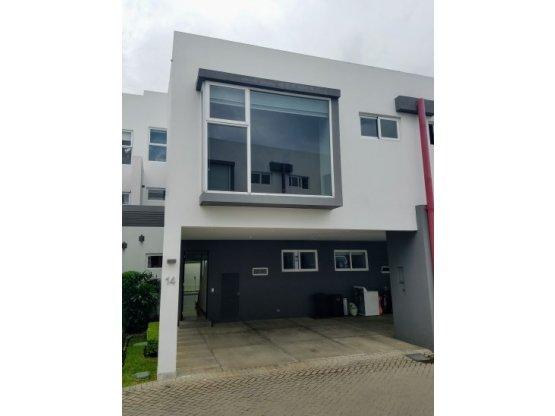 Contemporary house in condominium