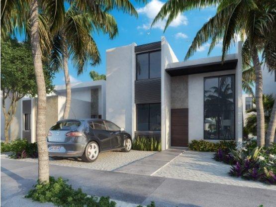 Casa Residencial Nueva en la Playa de Chelem