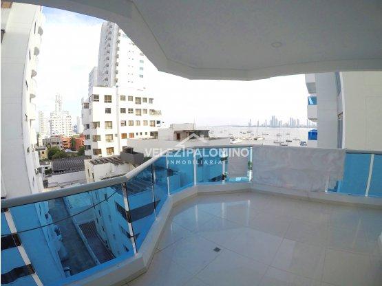 Apartamento en Manga, Edificio Punta Madero.