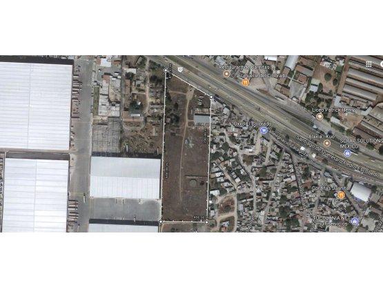 Lote 3 Has. sobre Autopista Qro-Mex, Queretaro.