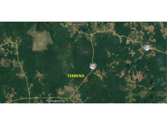 Venta de Terreno en Campeche - Edzná de 100 has