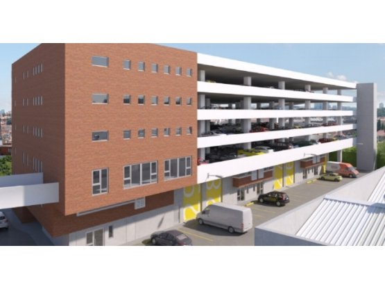 Distribodegas4, El Naranjo / 481.37 m²