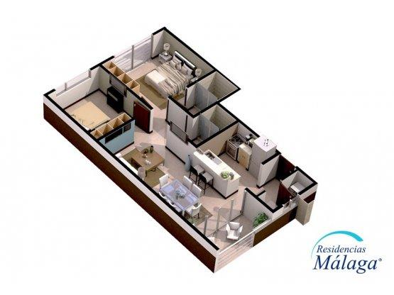 Apartamento nuevo para ALQUILER en  Alajuela