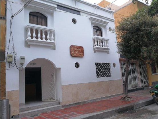 VENTA DE HOTEL CENTRO HISTORICO SANTA MARTA