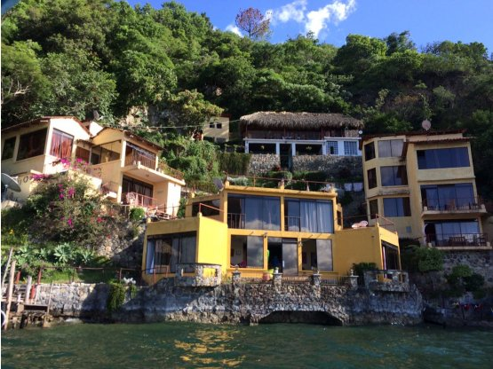 Propiedad a orillas Lago de Atitlán, Sololá