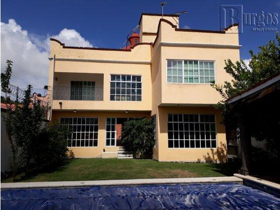 Venta de casa en Burgos Bugambilias. Morelos.