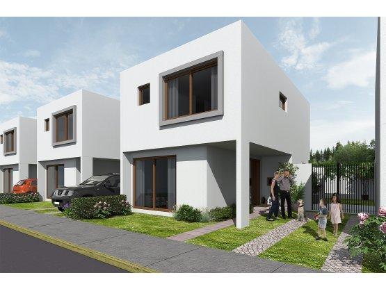 Venta Casas 3D-3B Est. Mediterraneo.Quilpué VC-068