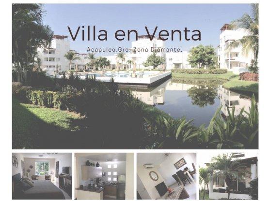 ACAPULCO, 56 ZONA DIAMANTE Villa Vacacional  venta