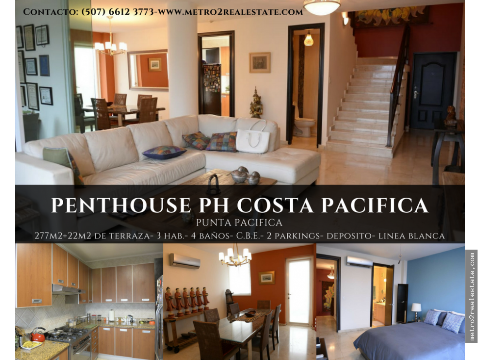 PENTHOUSE PH COSTA PACIFICA. Punta Pacifica