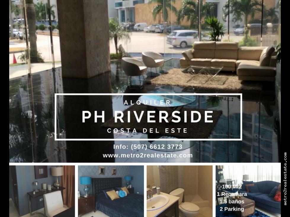 APTO PH RIVERSIDE. Costa del Este - Alquiler