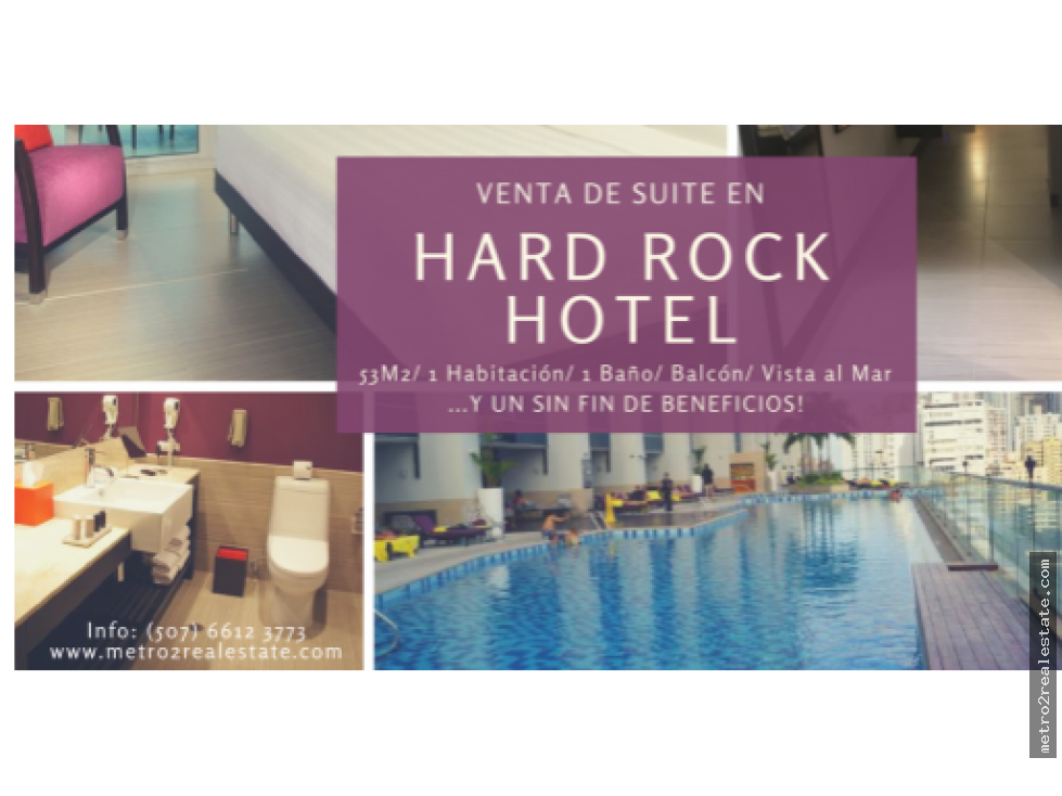 SUITE EN HARD ROCK HOTEL. Paitilla