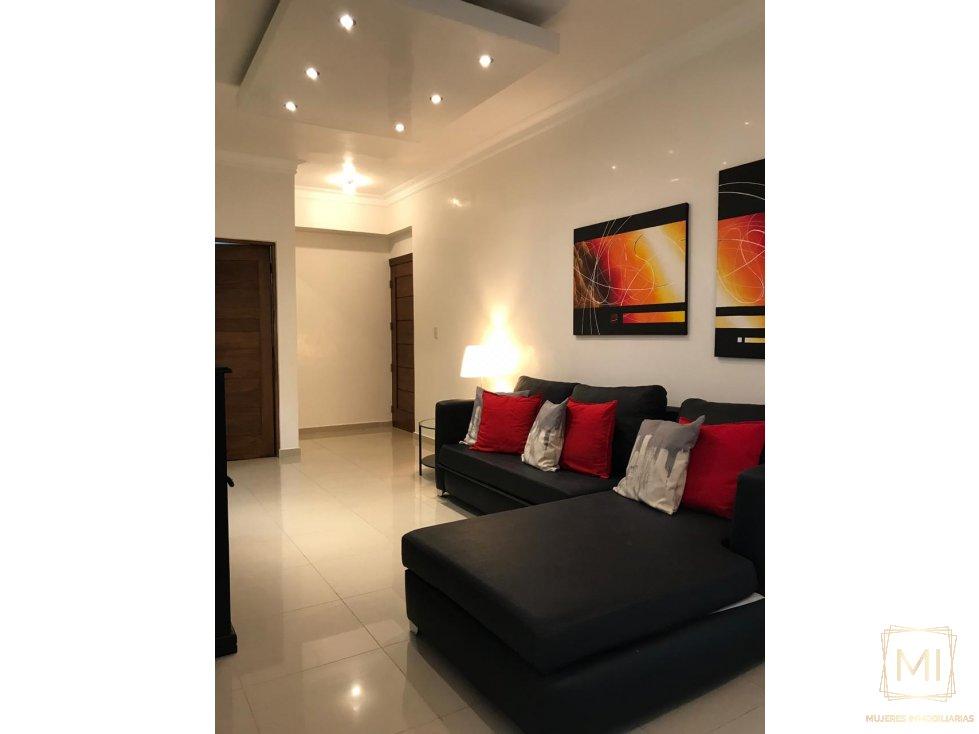 Apartamento amueblado Urb. Fernández
