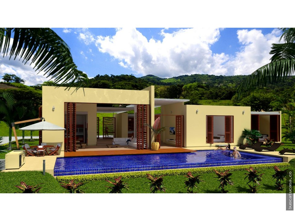 Vendo casas campestres en planos villeta cund for Planos de cabanas campestres