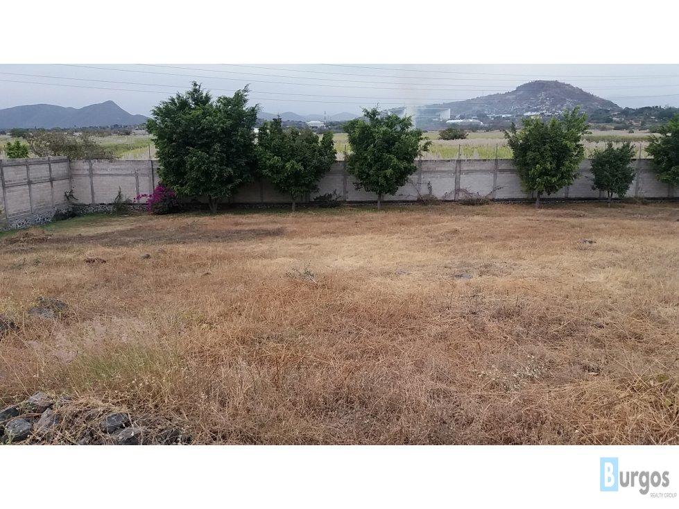 Terreno en Venta en Real de Tezoyuca. L11. 1120 m2