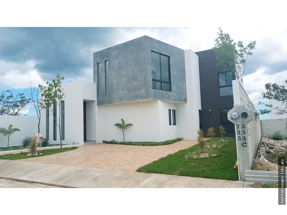 Casa en privada con 320m2 merida norte alberca for Casa con piscina zona norte merida