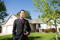 La presentación de un asesor inmobiliario
