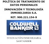 POLÍTICA DE TRATAMIENTO DE DATOS PERSONALES INNOVACIÓN Y TECNOLOGÍA INMOBILIARIA S.A.