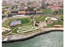 Construcción de la extensión del Paseo Marino de Colón alcanza 50% de avance