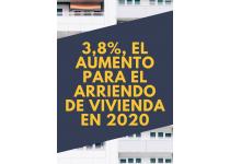 incremento de los canones de arrendamiento para el ano 2020