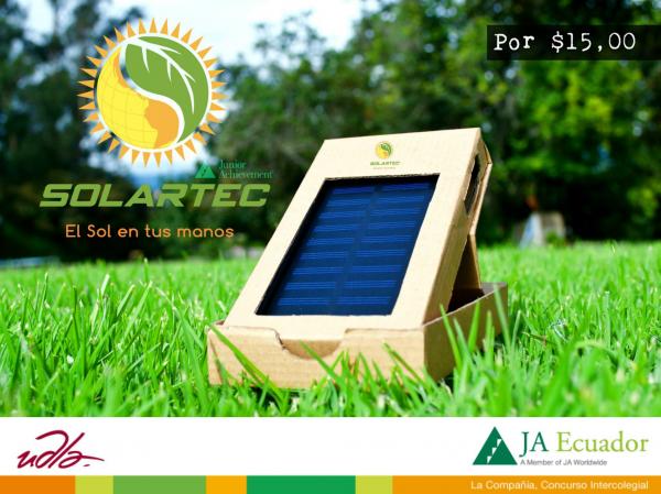 SOLARTEC. Venta de Cargadores de celulares Solares 0998949798