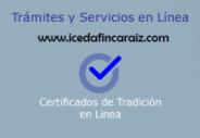 CERTIFICADOS DE TRADICIÓN Y LIBERTAD EN LINEA