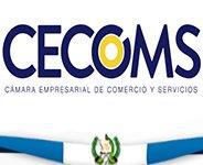 CECOMS es una institución sin fines de lucro, que asocia a empresas comerciales, industriales, manufactureras y de servicios, para apoyar, defender y promover el comercio y la inversión en Guatemala.