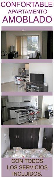 Confortable Apartamento Amoblado con todos los Servicios Incluidos
