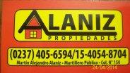ALANIZ PROPIEDADES
