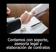 Soporte y asesoría legal