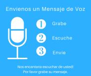 Envíenos un Mensaje de Voz