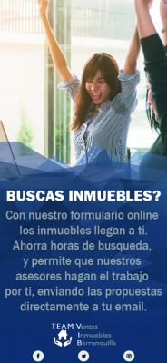Buscas Inmuebles? Utiliza nuestro formulario online!