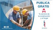 Publica gratis tu servicios para la construcción y el hogar con nosotros!