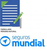 FORMULARIO PERSONA NATURAL SEGUROS MUNDIAL