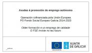 Axudas autónomos Xunta de Galicia