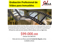 GRABACION PROFESIONAL DE VIDEO PARA INMUEBLES